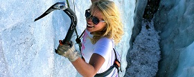 Sommer Ice Climbing